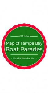Map of Lighted Boat Parade Routes