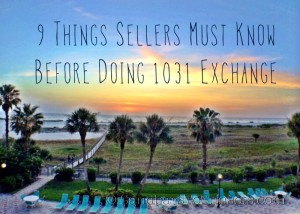 Clearwater Beach Florida 1031 Exchange Florida Tips for Sellers